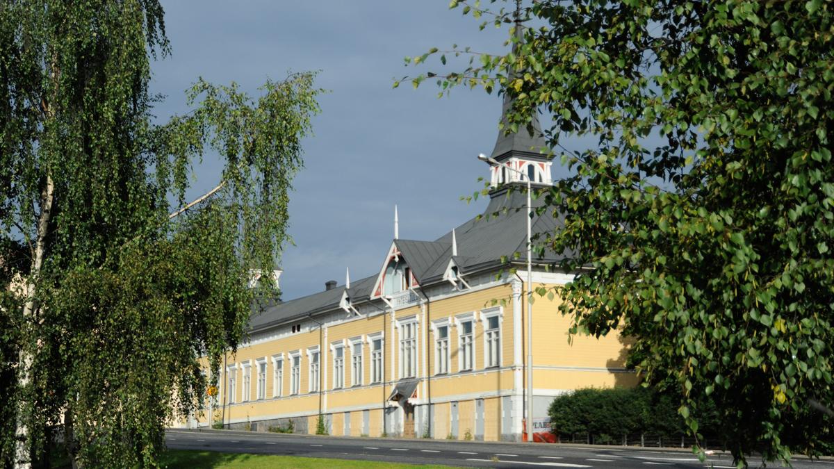 Karlebynejdens instituts fasad