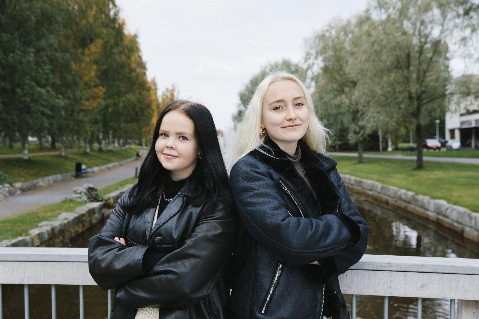 De unga flickor