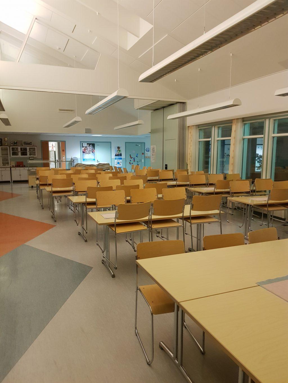 Koulun ruokasali