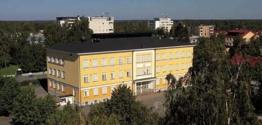Ilmakuva Mäntykankaan koulusta