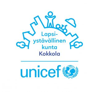 Unicefin lapsiystävällinen kunta logo.