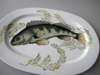 Lautanen; kala.