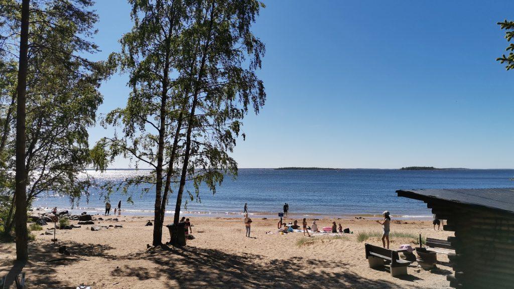 Valkohiedan uimaranta