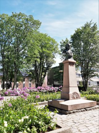 Flowers in Chydenius park